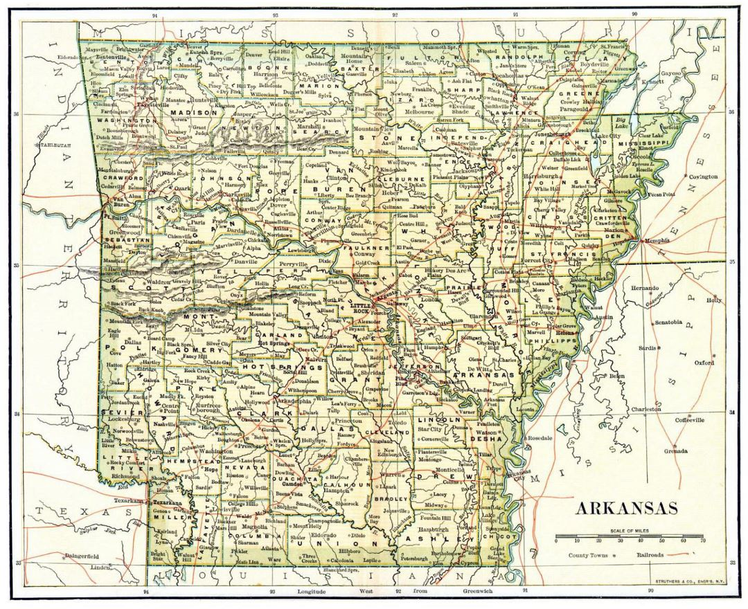 Maps Of Arkansas State Collection Of Detailed Maps Of Arkansas - Arkansas usa map