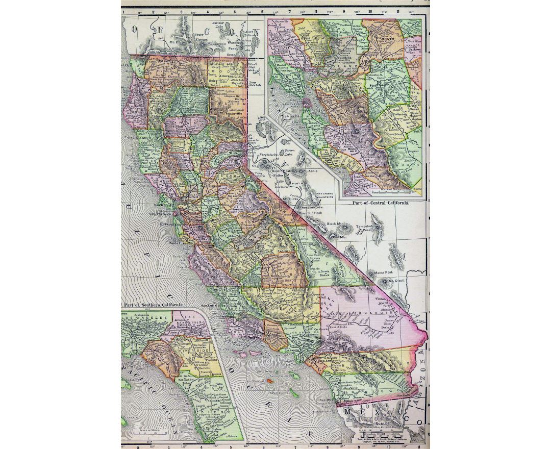 Maps Of California State Collection Of Detailed Maps Of - California road map