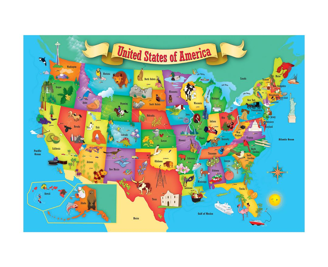 Maps Of The Usa Collection Of Maps Of The United States Of America - Us-detailed-map