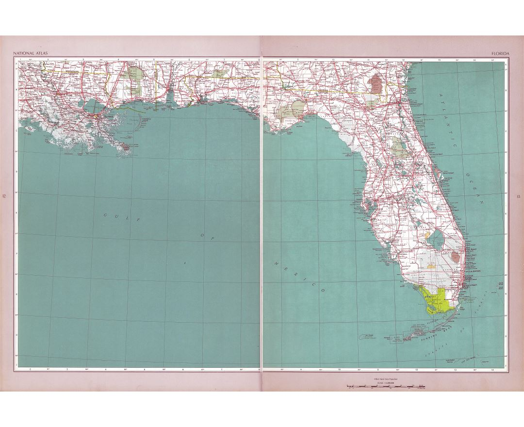 Maps of Florida state Collection of detailed maps of Florida state