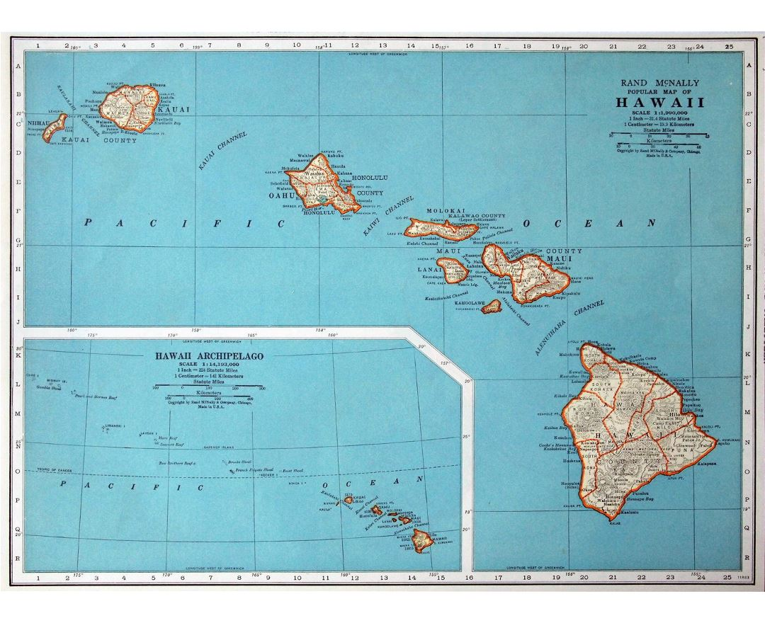 Maps of Hawaii | Collection of maps of Hawaii state | USA | Maps of ...