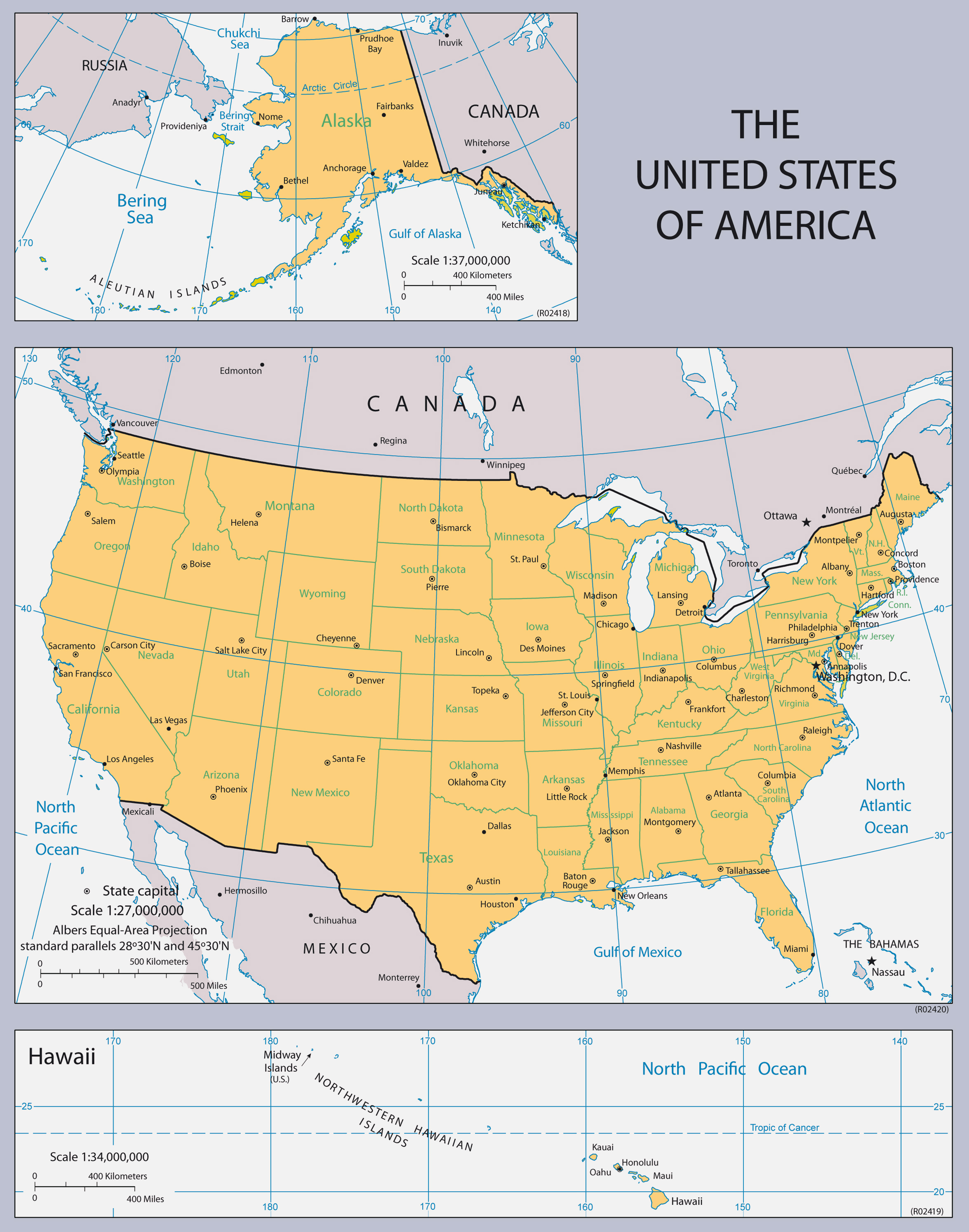 Large Usa Maps With States Diagrams Get Free Images About World - Maps united states of america
