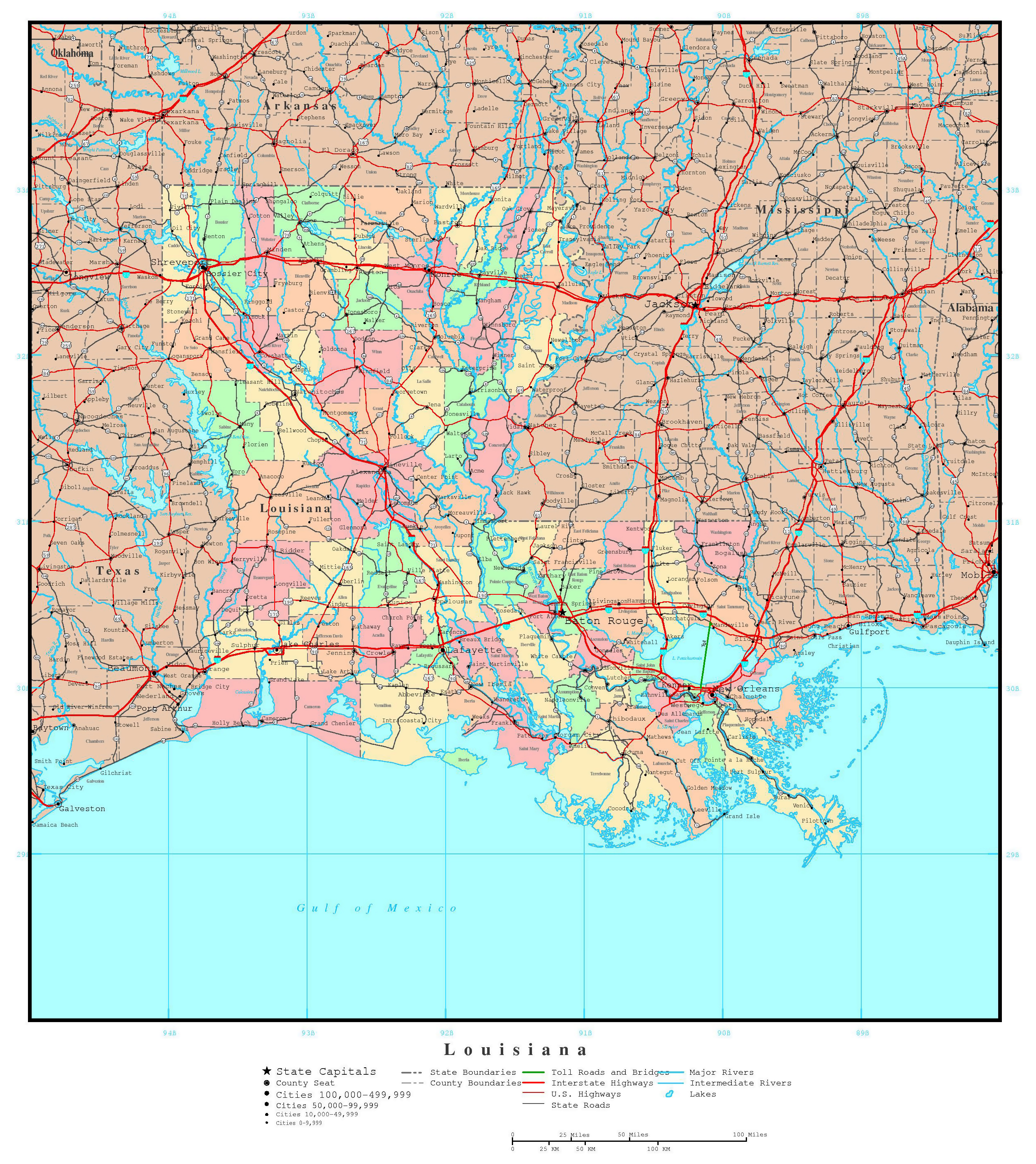 USA Map Road Map USA Detailed Road Map Of USA Large Clear Highway - Map usa states highways