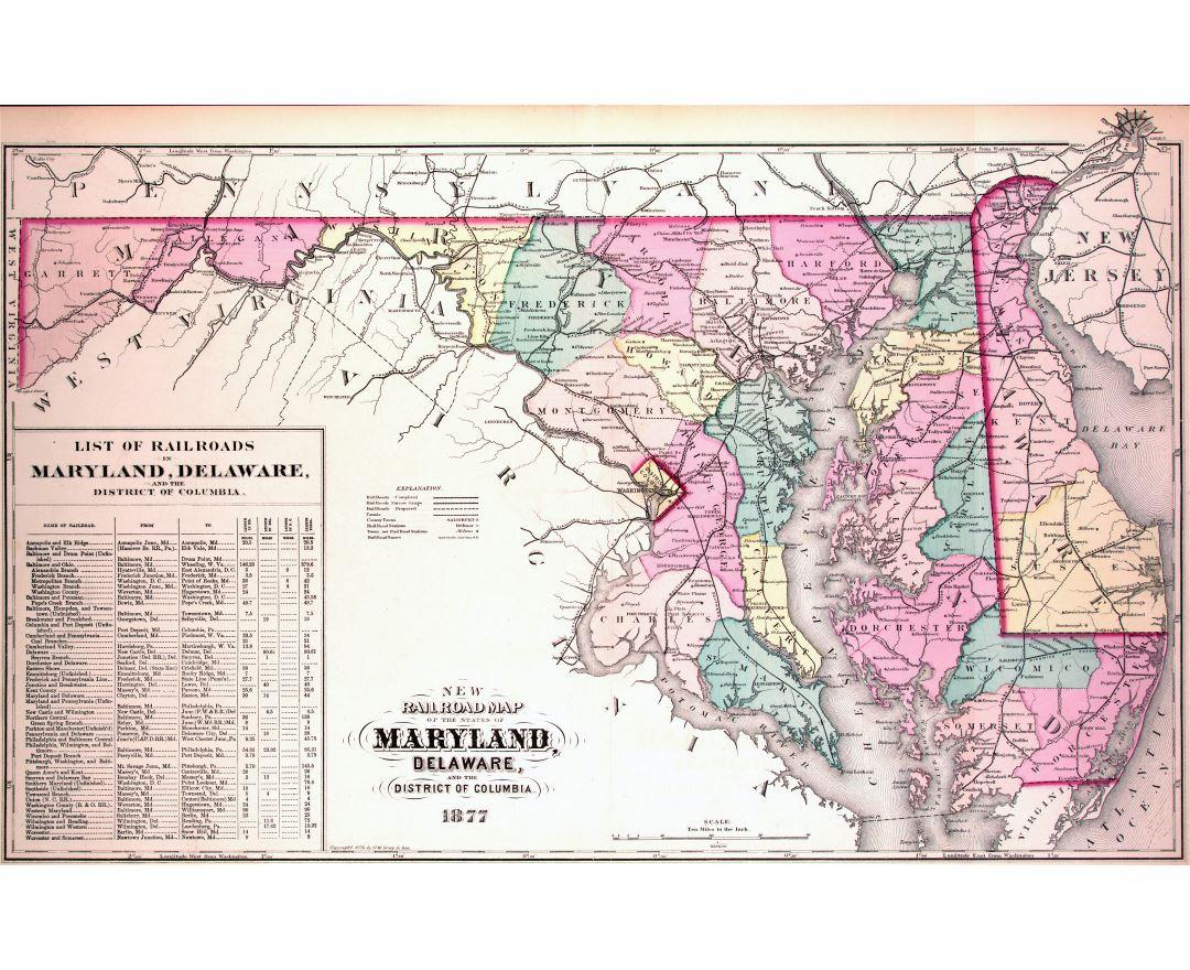 New Jersey Map Map Of New Jersey NJ USA New Jersey Map Fotolipcom - Us railroad wall map