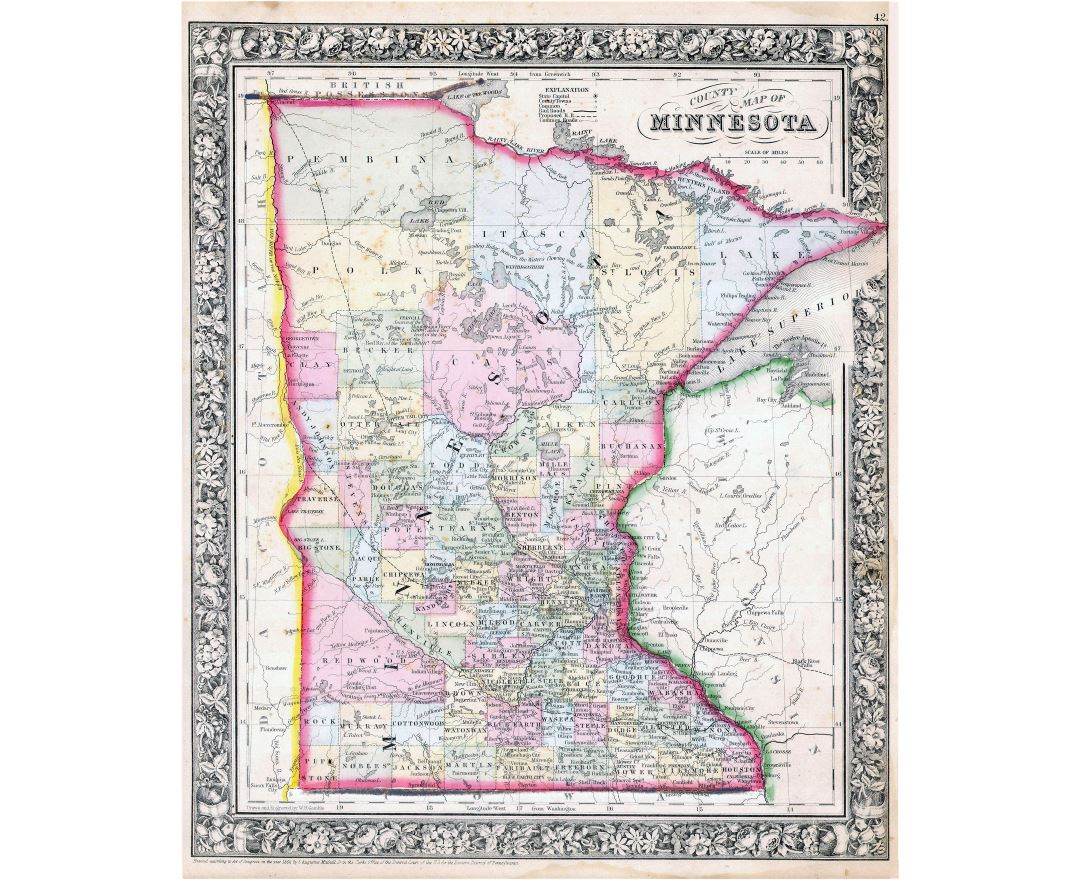 Maps of Minnesota state Collection of detailed maps of Minnesota