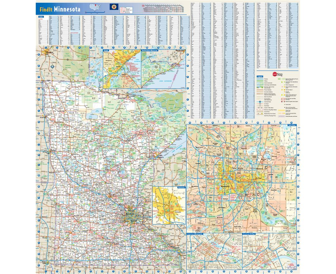 Major Truck Routes On The National Highway System  FHWA Map - Map of all us national parks