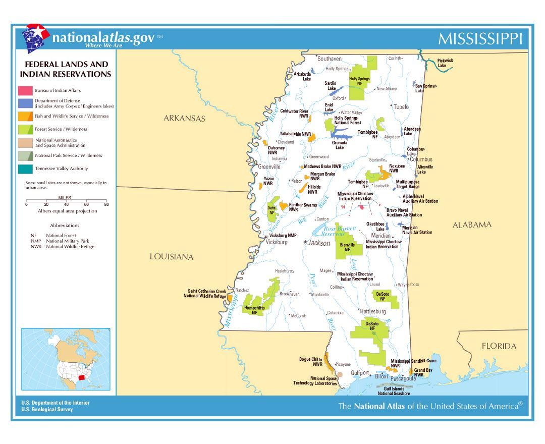 Maps Of Mississippi State Collection Of Detailed Maps Of - Map usa alabama
