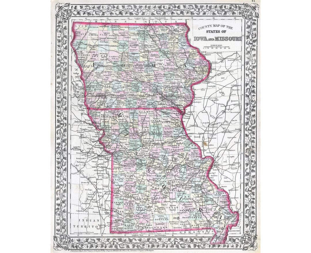 Maps Of Missouri State Collection Of Detailed Maps Of Missouri - Detailed map of iowa