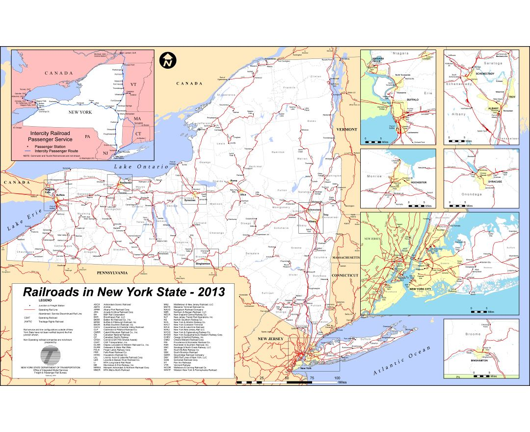 Maps of New York state Collection of detailed maps of New York