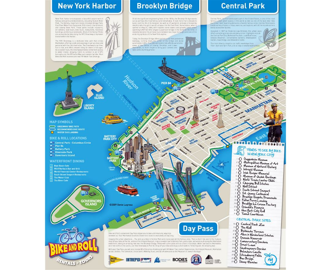 Maps Of New York Detailed Map Of New York City Tourist Map - New york city map usa