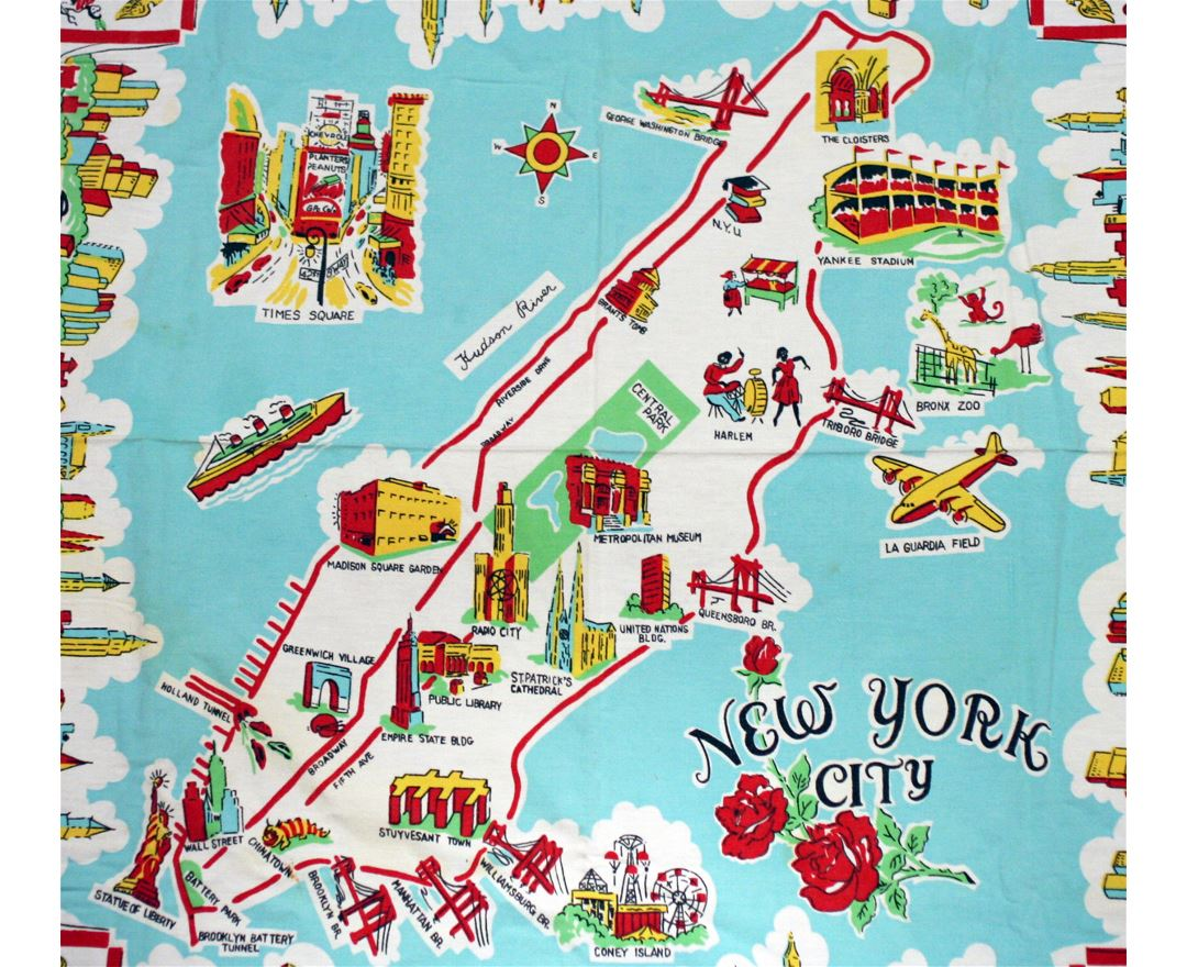 tourist map of nyc maps of new york detailed map of new york city tourist tourist map of nyc maps of new york detailed map of new york city tourist