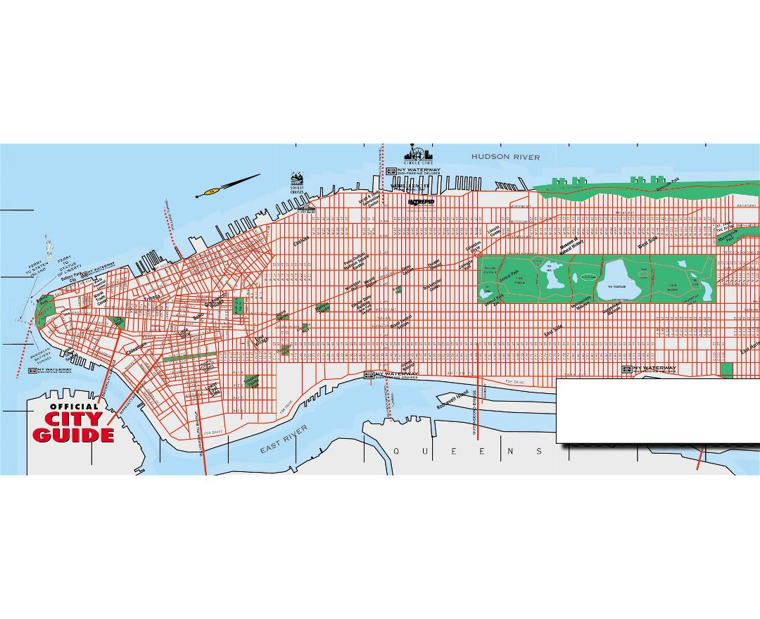 Maps Of New York Detailed Map Of New York City Tourist Map - Road map new york