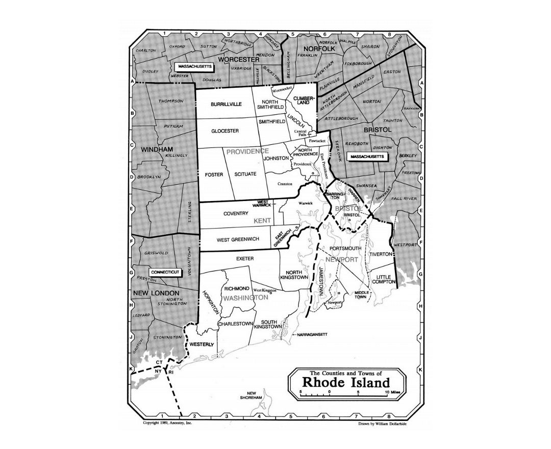 Maps Of Rhode Island State Collection Of Detailed Maps Of Rhode - Rhode island in usa map