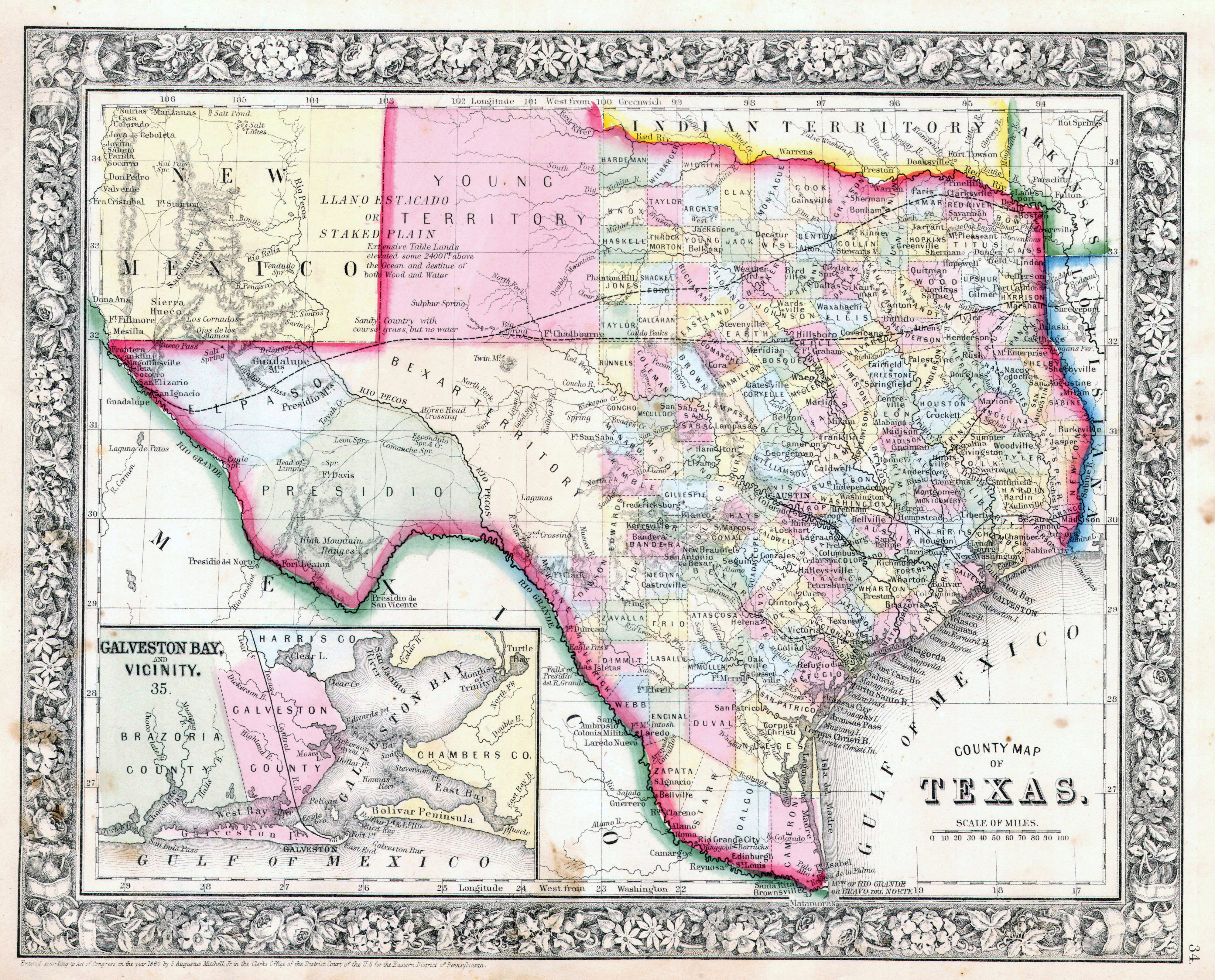 Large detailed old administrative map of Texas state with ... on red map of texas, dripping springs texas, heat map of texas, drive map of texas, map of refineries in texas, contour lake maps texas, salt production in the usa map, amaretto map of texas, gravity map of texas, salt maps for school projects, sinkhole map of texas,