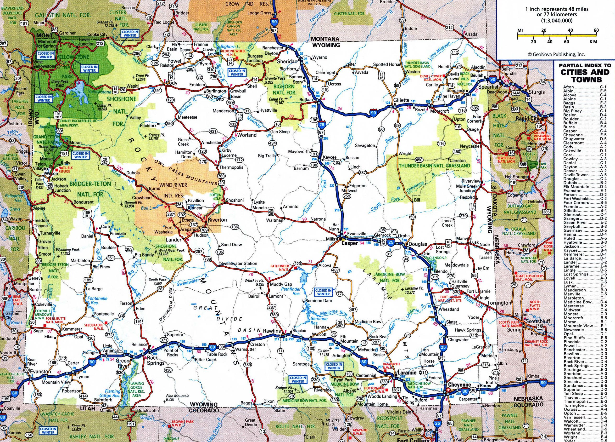 Us Map With Cities And Interstates Us Map Showing Major Highways